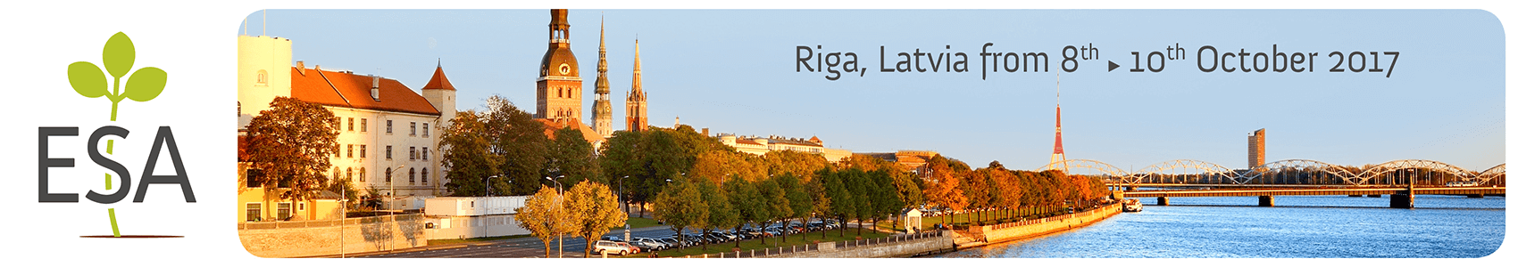 ESA Annual Meeting 2017 - Riga - Sunday 8  › Tuesday 10 October 2017